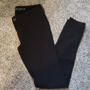 American Eagle Outfitters Black Jeggings Sz 6